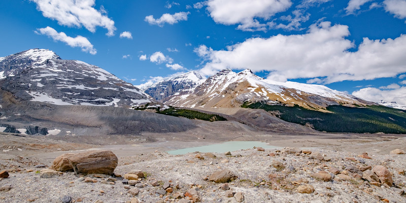 Another glacial valley froim the Columbia Icefields Centre.