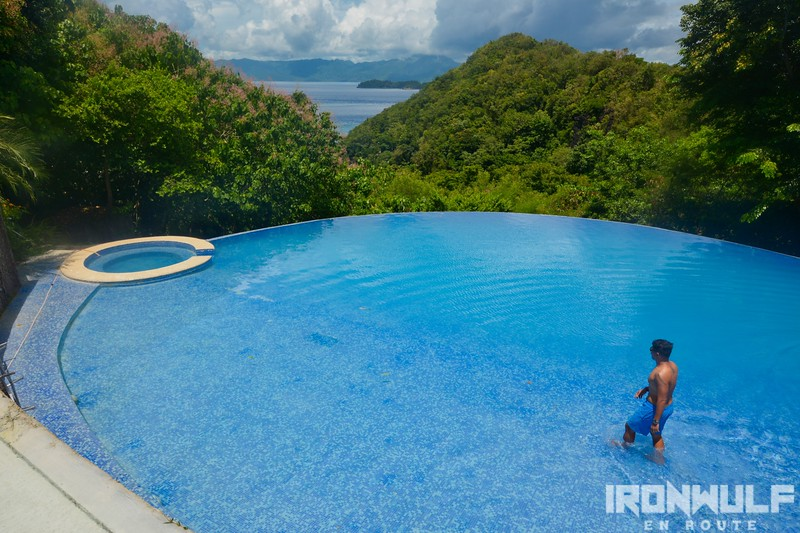 Infinity Pool at Tugawe Cove Resort