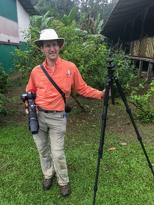 David attending the Costa Rica wildlife-photography workshop.