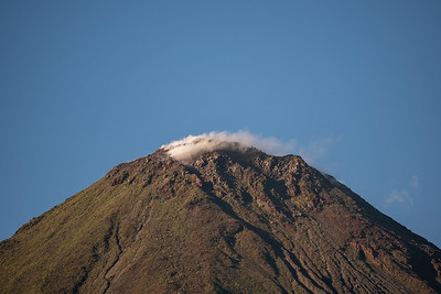 Steaming Volcano