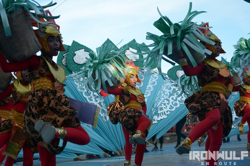 !st place winner is Tiwi's Coron festival
