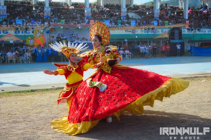 Palong festival's King and Queen dance