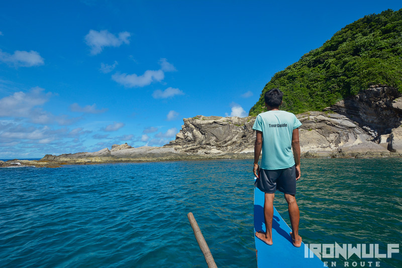 Approaching Poseidon Rock