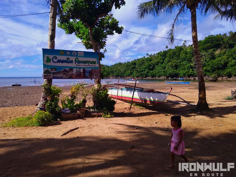 Carorian adventure jump off at baranggay Carorian