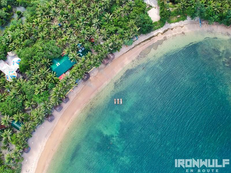 Quiet Carangyan Beach Cove