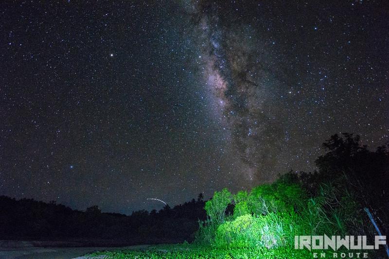 Stargazing at Carangyan Beach