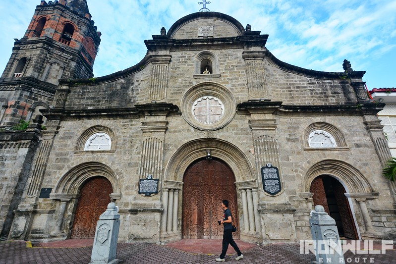 Facade of Barasoain Church