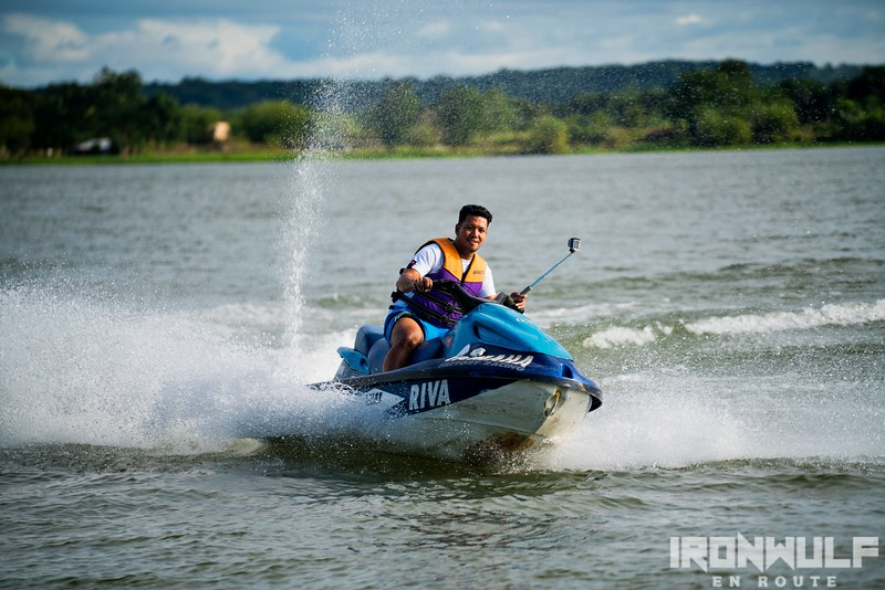 Jet ski at Angat River (photo by Martin san Diego?NPVB)