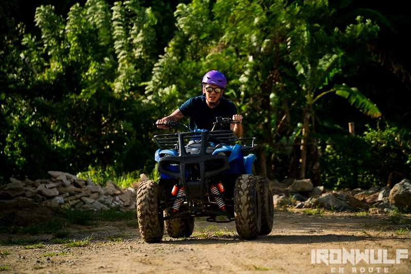 ATV around SRRA property