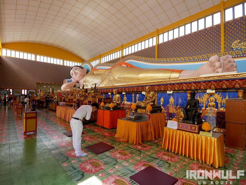 Praying devotees