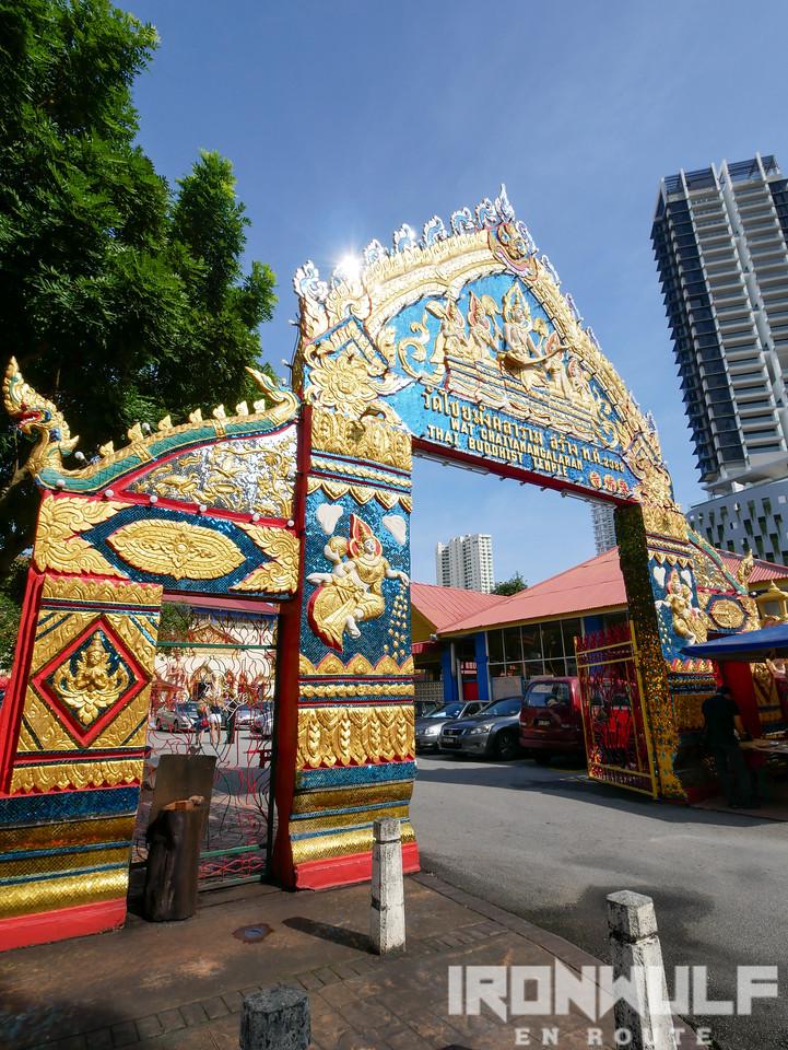 Entrance at Wat Chayamangkalaram