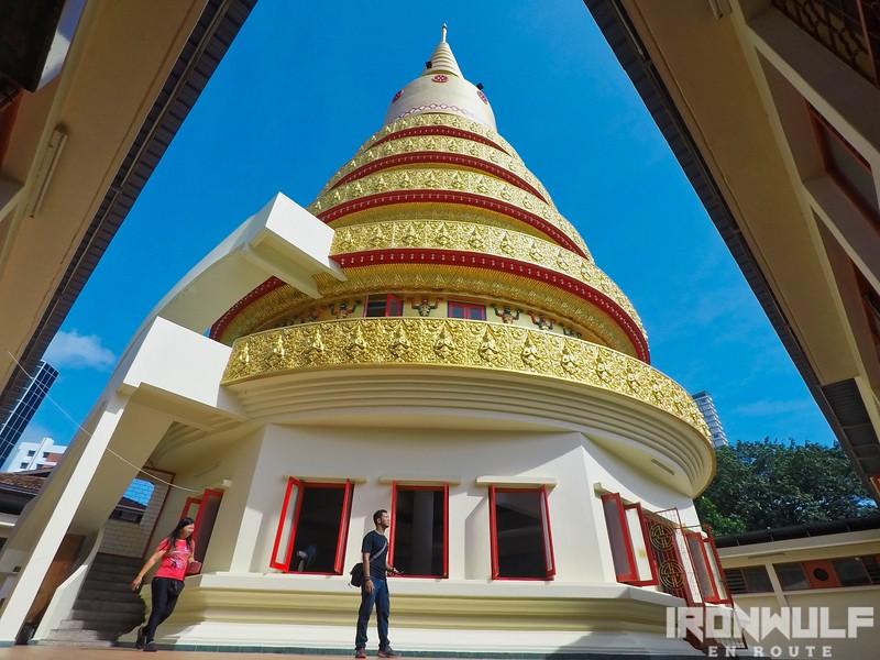 The columbarium at  Wat Chayamangkalaram