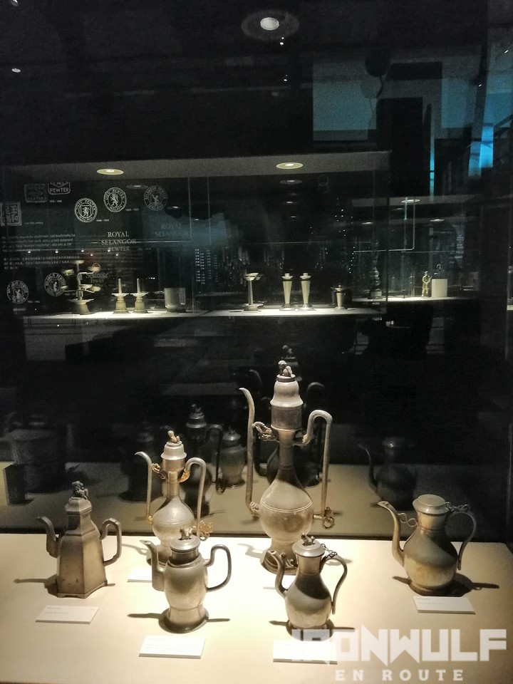 Antique museum pieces