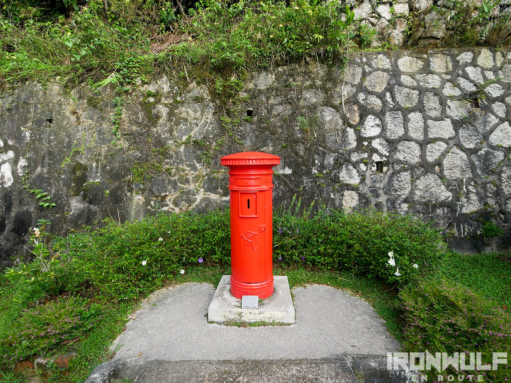 One of the oldest heritage post box in Penang