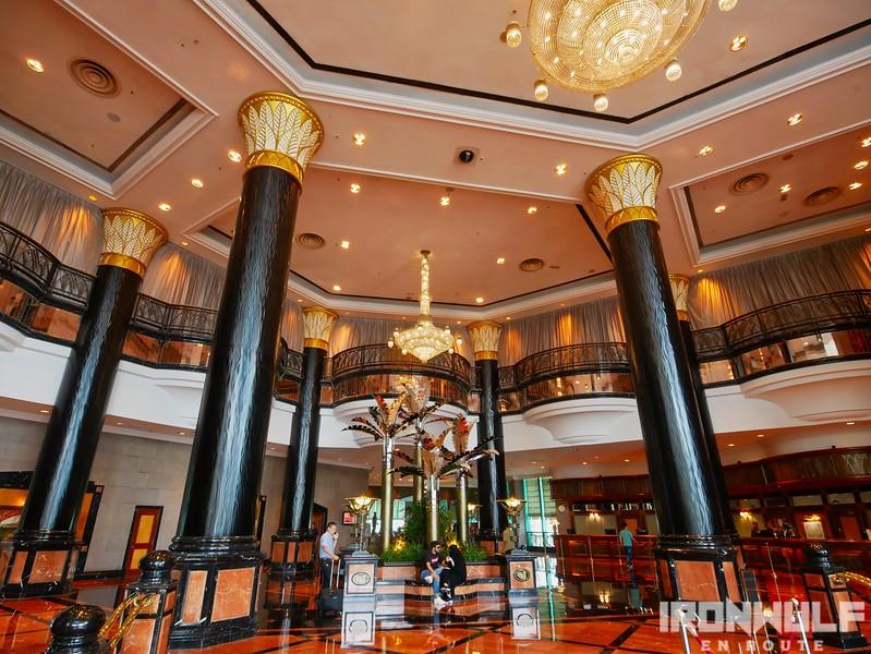 Elegant lobby of Sunway Hotel Resort and Spa