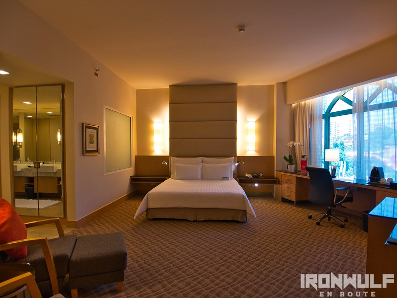 One of the suite rooms at Sunway Hotel Resort and Spa