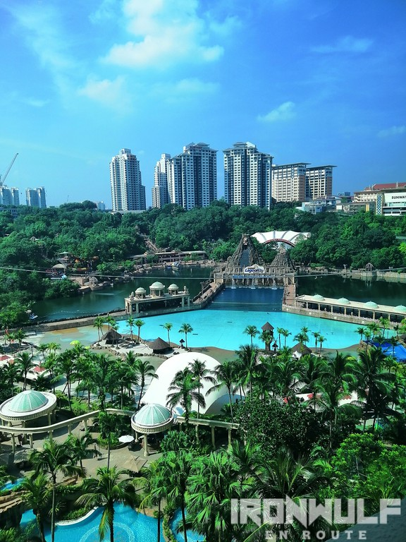 Sunway has the largest man-made beach