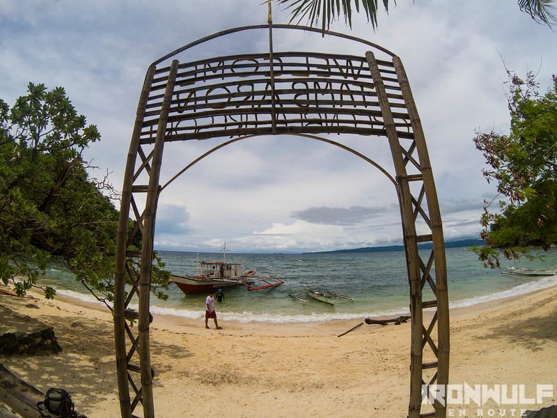 Tambaron Island beach