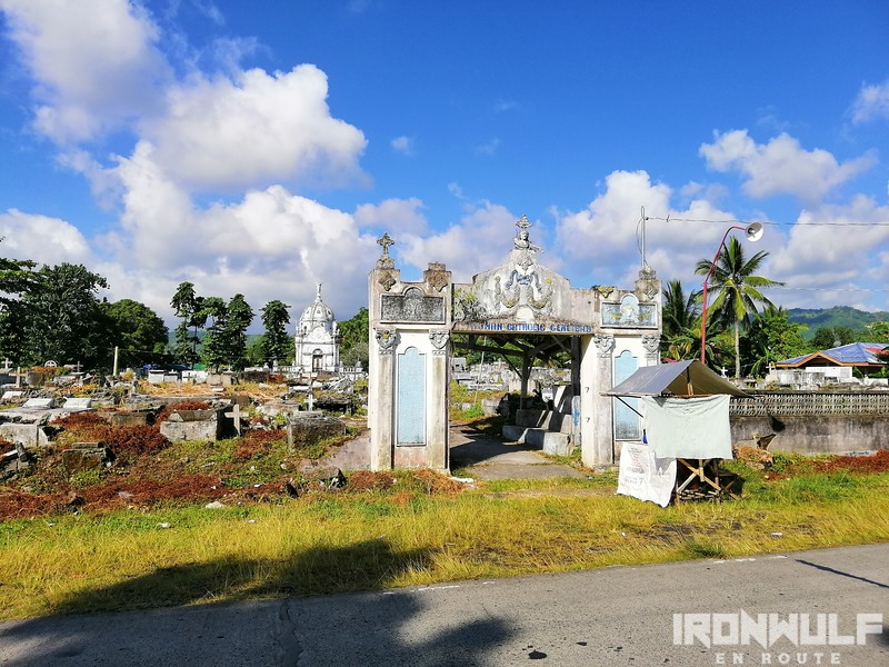 The Roman Catholic Cemetery of Malitbog