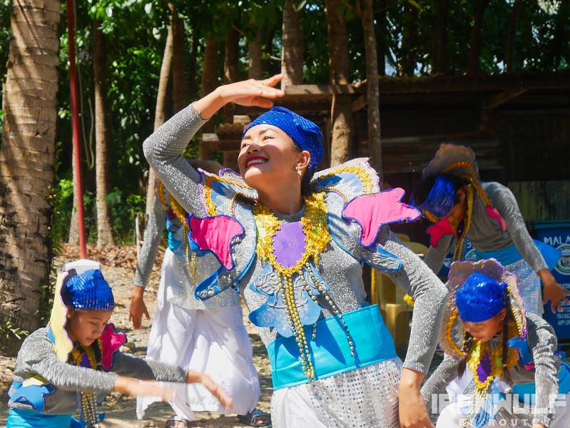 Liloan festival dancers