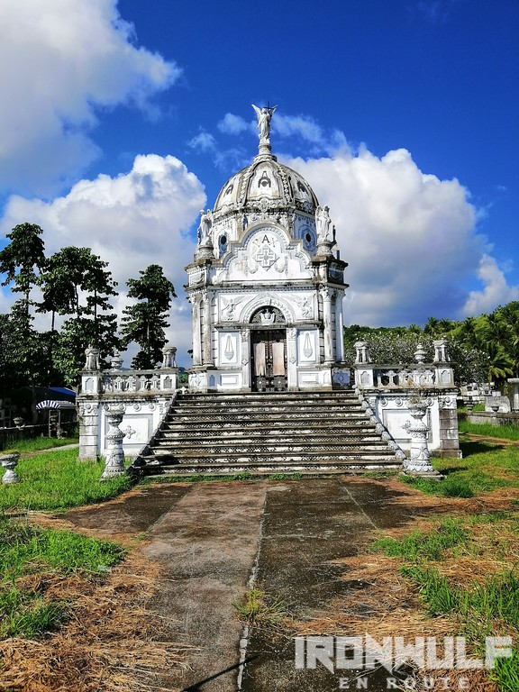 The grand Escaño Mausoleum