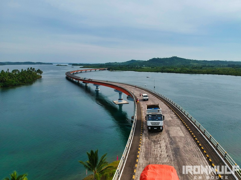 Connecting Leyte and Samar