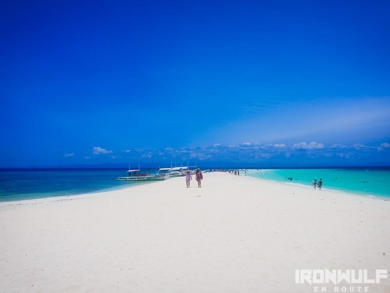 Sandbar view