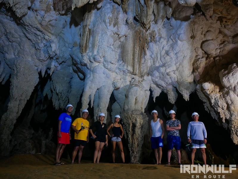 Inside Panhulugan Cave