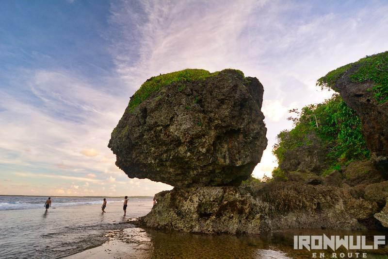 The Magpupungko Rock