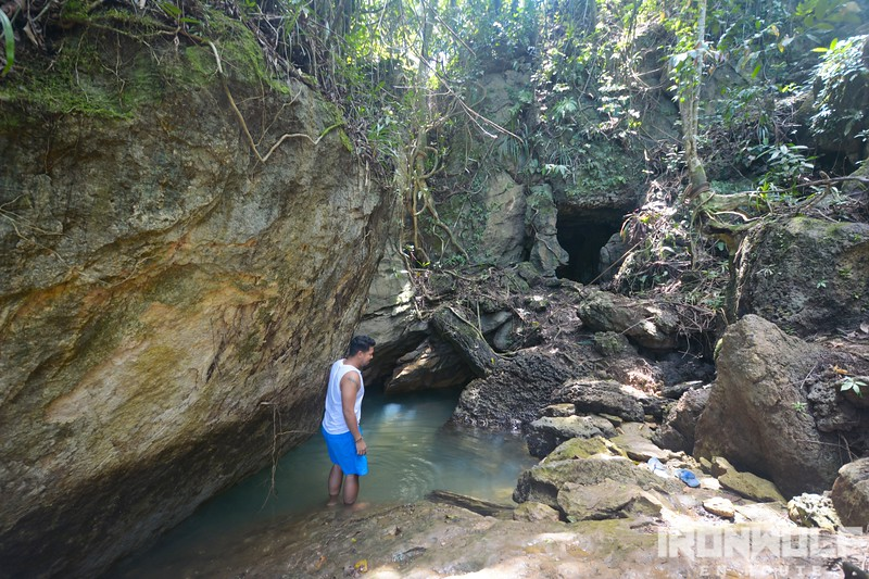 The Tayangban Cave entrance