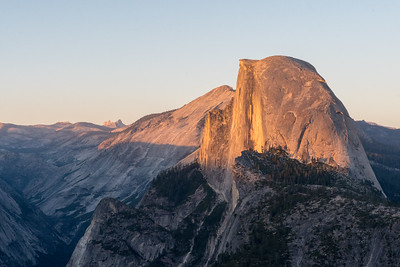 Halfdome from Glacier Point, Yosemite National Park.