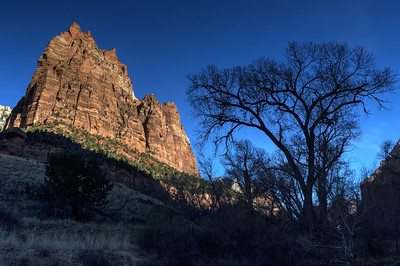 Court of the Patriarchs; Zion National Park.