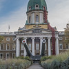 Imperial War Museum with Poppies - London (November 2018)