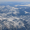 Rocky Mountains between Seattle and Dallas - Tuesday