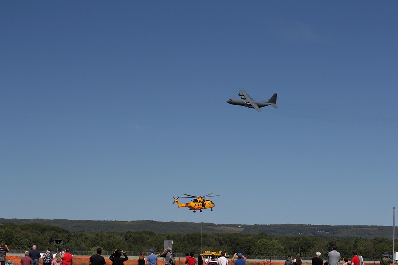 Canadian C-130 & CH-149 Cormorant (Search & Rescue)