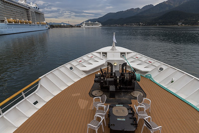Uncruise in Inside Passage of Alaska on Safari Endeavour, Sep 2-8th, 2019. Taken at Juneau waiting for embarking at 16:30
