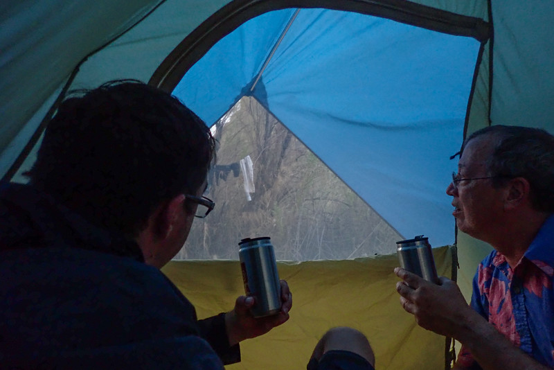 Good time for a tent- monsoonal rains