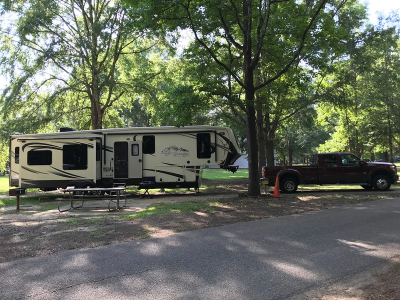 Fort Toulouse Campground - Wetumpka, AL