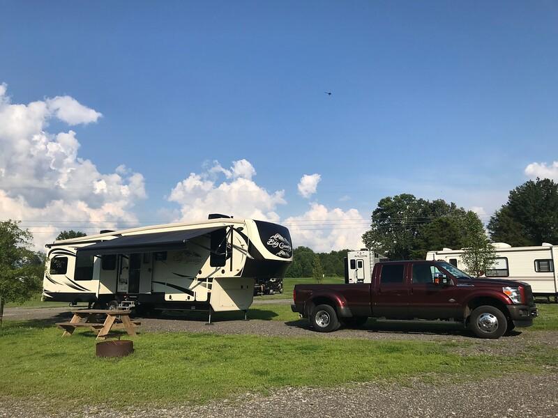 Shawnee Forest Campground - Vienna, IL