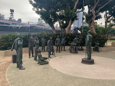 San Diego Bay Run - USS Midway