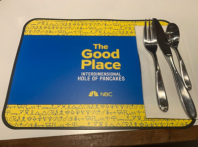 Good Place - Interdimensional Hole of Pancakes