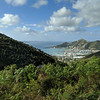 Road Town, Tortola, from above