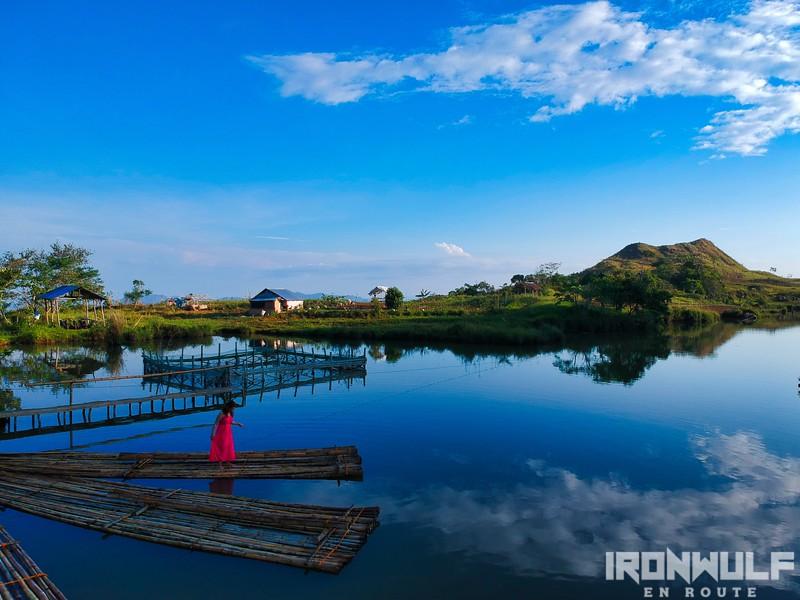 Reflective Danao Lake