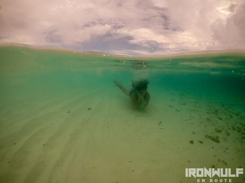 Mariane underwater