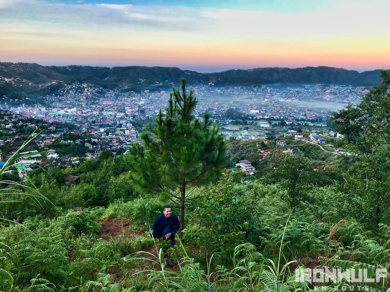 Early morning hike at Mt Yangbew