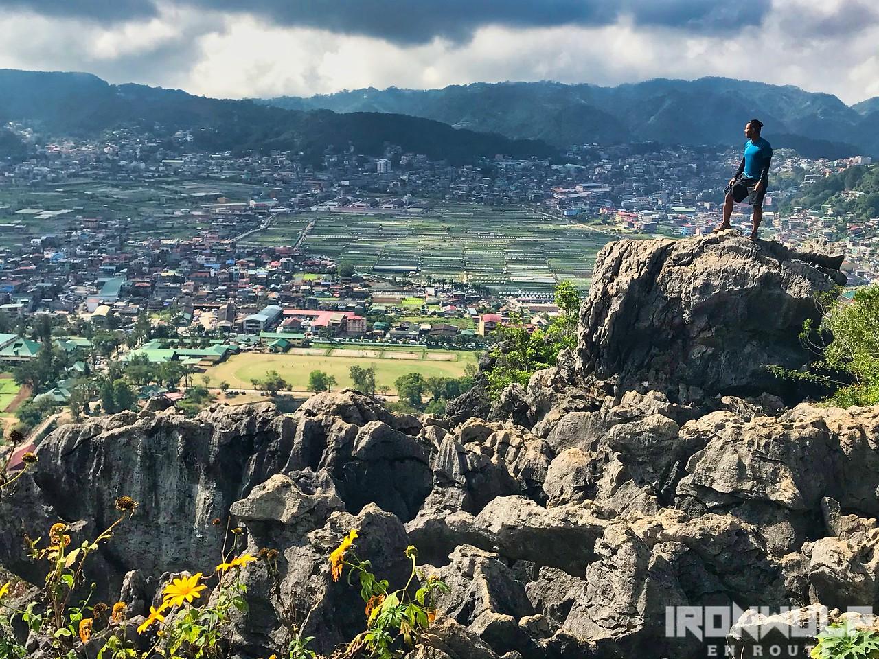 Rocky summit at Mt Kulugong