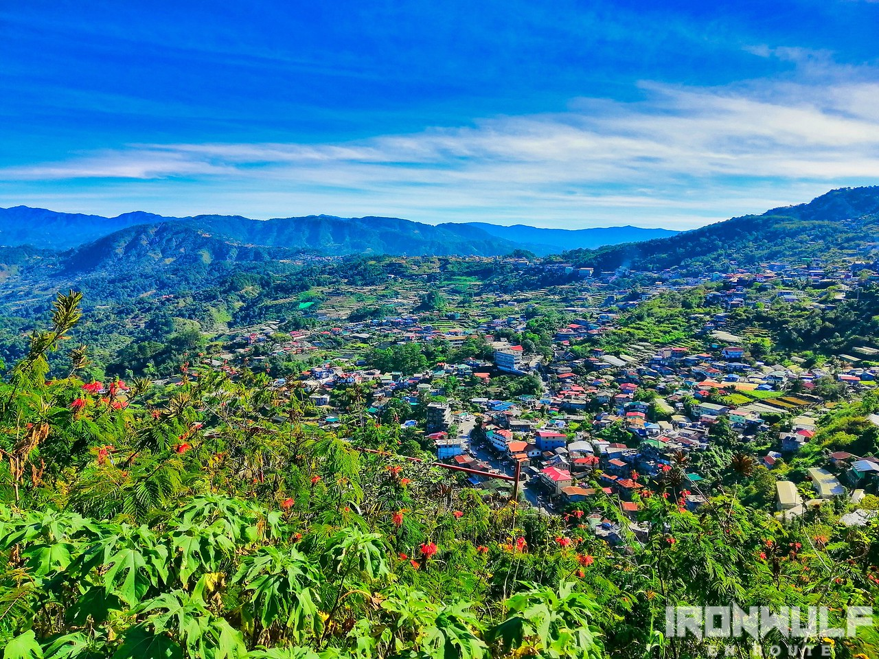 View from the Mt Kalugong trail