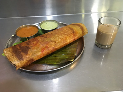New Shanthi Sagar, for masala dosa.