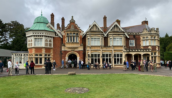 Bletchley Park mansion, Bletchley Park