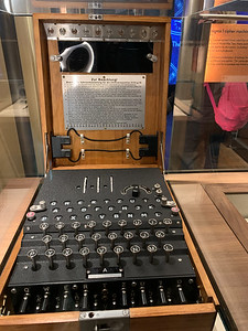 Enigma machines, Bletchley Park
